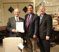Mayor Tim Degeeter Treated To Tour Of Basista Furniture Parma Observer